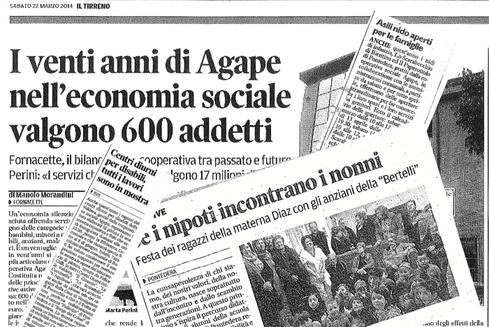 Agape rassegna stampa tv e media for Camera deputati rassegna stampa